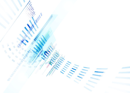 Concept business background. Illustration