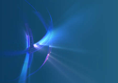 Abstract futuristic global background photo