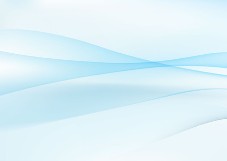 Abstract blue wavy background Vectores