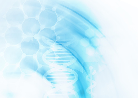 DNA molecule structure background. Abstract blur illustration Zdjęcie Seryjne - 42034137