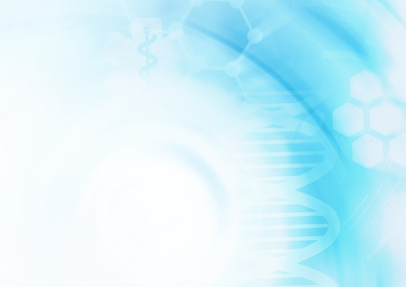 DNA molecule structure background. Abstract blur illustration Zdjęcie Seryjne - 42305665
