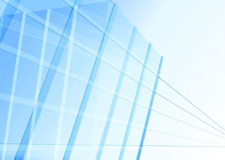 Edificio abstracto de las líneas Foto de archivo - 43651213