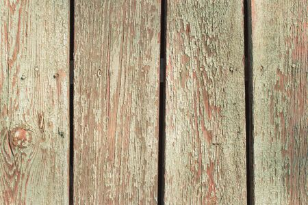 surface level: Old shabby wooden planks