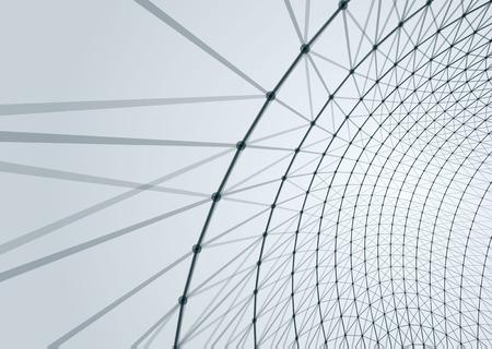Abstract geometric technology design element. Template design 矢量图片