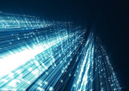 speed: Elemento de diseño de la tecnología abstracta geométrica. Diseño de la plantilla