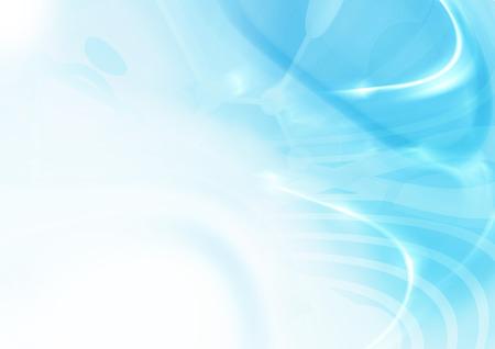 Resumen techno de fondo azul de la nanotecnología. diseño de la plantilla