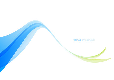wave abstract: Abstract light blue wavy background. Vector illustration Illustration
