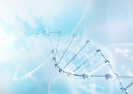 DNA molecule structure background. Abstract blur illustration Zdjęcie Seryjne - 65217684