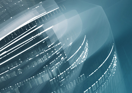 light abstract: Abstract geometric technology graphic elements. Template design. Stock Photo