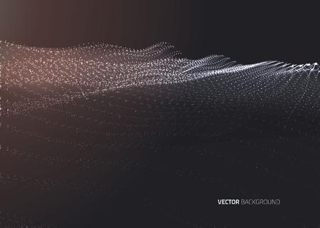 zeichnen: Vektor Halbton-Punkte abstrakten Hintergrund. Design-Vorlage