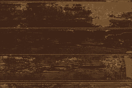 Old grunge wood texture parquet for background Illustration