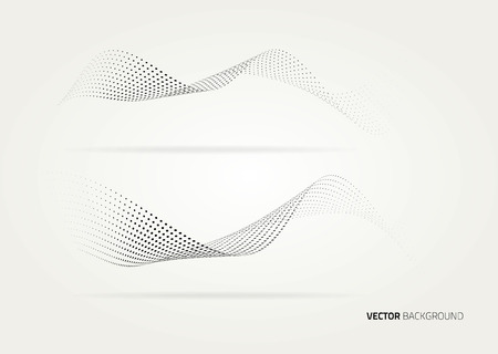 Vector halftone dots abstract background. Иллюстрация