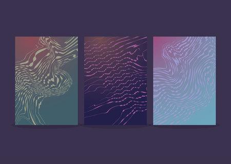 Modern futuristic abstract high-tech design.