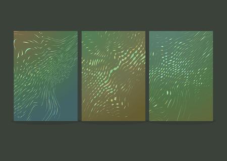 Modern futuristic abstract high-tech design. Vector illustration Vectores