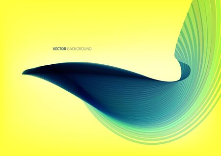 Wave Liquid shape in multi color background. Vector illustration. Foto de archivo - 147171847