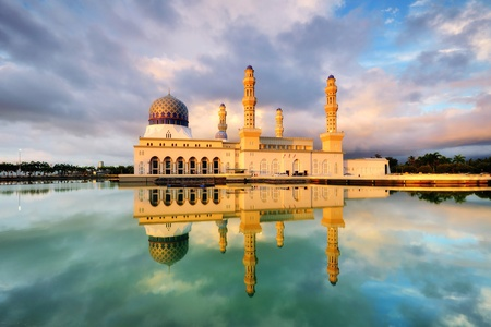sabah: Floating Mosque in Kota Kinabalu