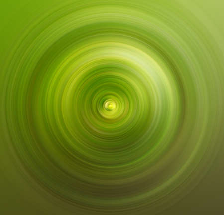 Abstract green spiral background photo