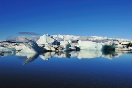 Iceberg in Jakulsarlon Lagoon, Iceland