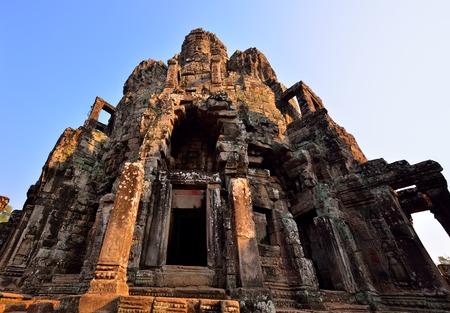 bass relief: Bayon Angkor Thom, Angkor Wat in Siem Reap, Cambodia.