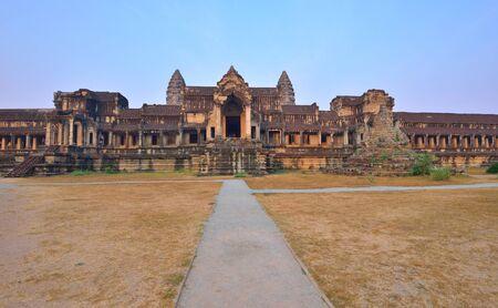 siem reap: Angkor Wat Temple Complex after sunrise, Siem Reap, Cambodia.