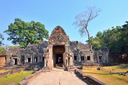 khan: Preah Khan Temple in Angkor Thom, Cambodia.
