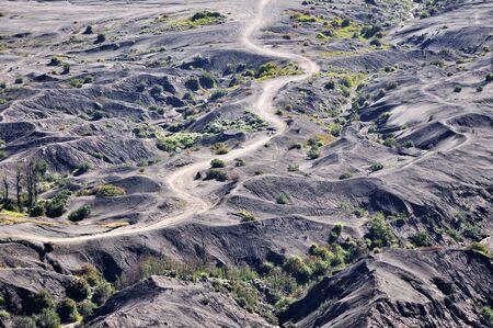 tengger: Volcano landscape in Mount Bromo Tengger Semeru National Park in East Java, Indonesia
