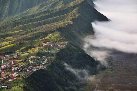 tengger: Highland village in Bromo Tengger Semeru National Park, East Java, Indonesia.