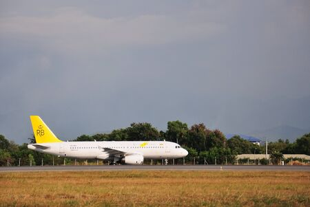 kinabalu: KOTA KINABALU, MALAYSIA - MARCH 10, 2016: Royal Brunei Airbus A320 taxiing at Kota Kinabalu International Airport. Royal Brunei Airlines is a national flag carrier airline of the Brunei Darussalam. Editorial