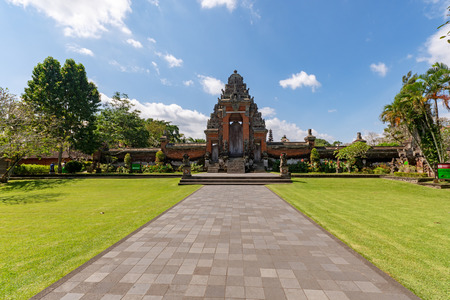 Taman Ayun Temple, a royal temple of Mengwi Empire located in Badung regency one of the places of interest in Bali, Indonesia.