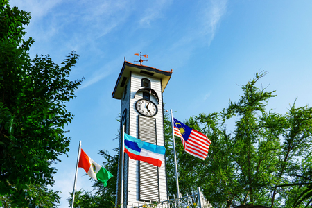 Atkinson Clock Tower, the oldest standing structure in Kota Kinabalu.