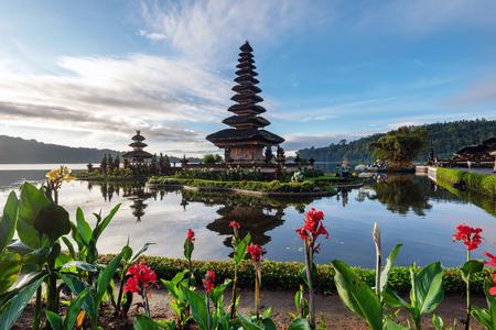 Pura Ulun Danu Bratan in Bedugul Bali Indonesia