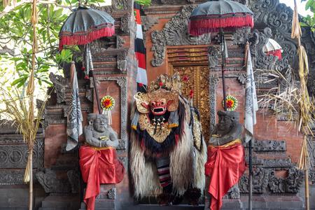 Barong dance performance, Balinese traditional dancing. Stock fotó
