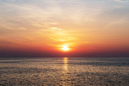 Kota Kinabalu sunset background, Sabah Borneo Malaysia