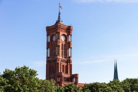 Berlin city hall Standard-Bild