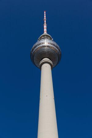 TV Tower  Fernsehturm  in Berlin