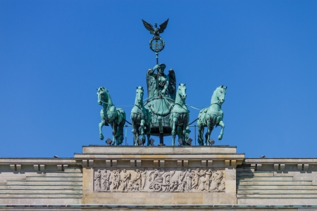 Quadriga by Johann Gottfried Schadow