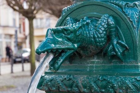Public fountain in Berlin