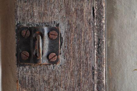 rusty: rusty padlock