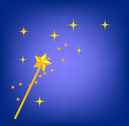enchantment: background with magic wand image