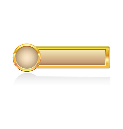 golden button