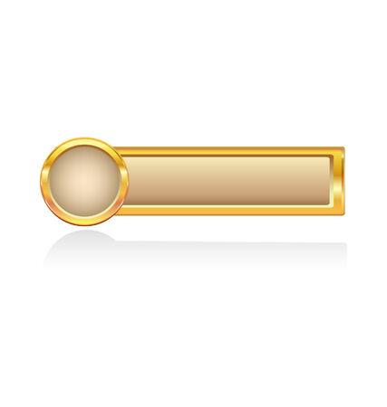 knop: Gouden knop