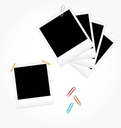 staplers: set of photo frames