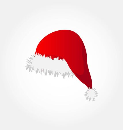 clause: red santa`s hat