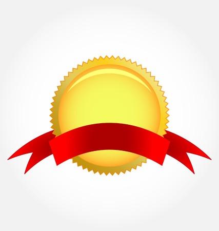 second place: rosette ribbon