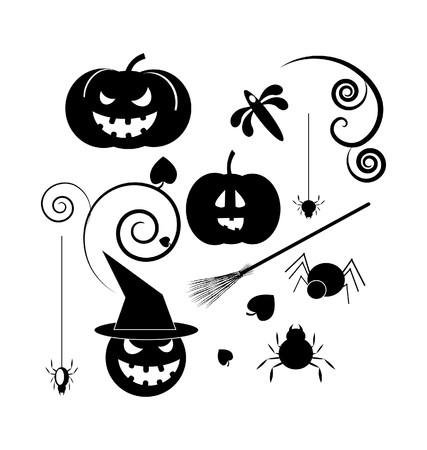 Halloween icons Stock Vector - 7903147