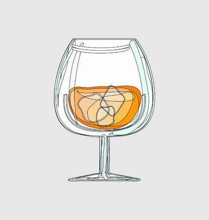 coctail glass Stock Vector - 7903155