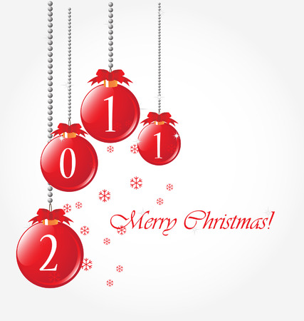 merry christmas background Stock Vector - 8197084