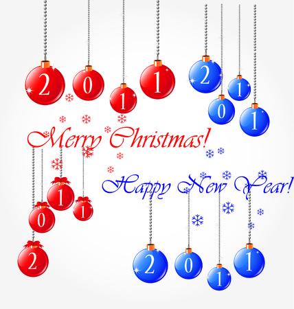 christmas set Stock Vector - 8197086