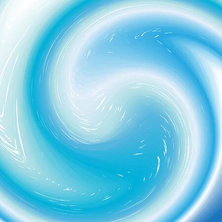 background with aqua twirl