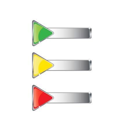 metal buttons Stock Vector - 8602620